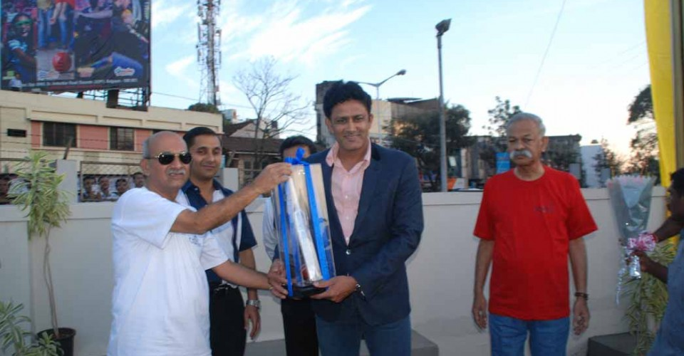 Centenary Rally with Anil Kumble