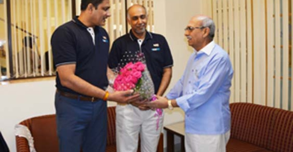 Centenary Cup – Sports Inauguration by Anil Kumble on 08 /01/16