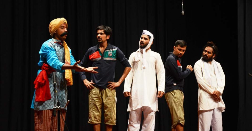 KLE Centenary kannada tamasha drama by rangay