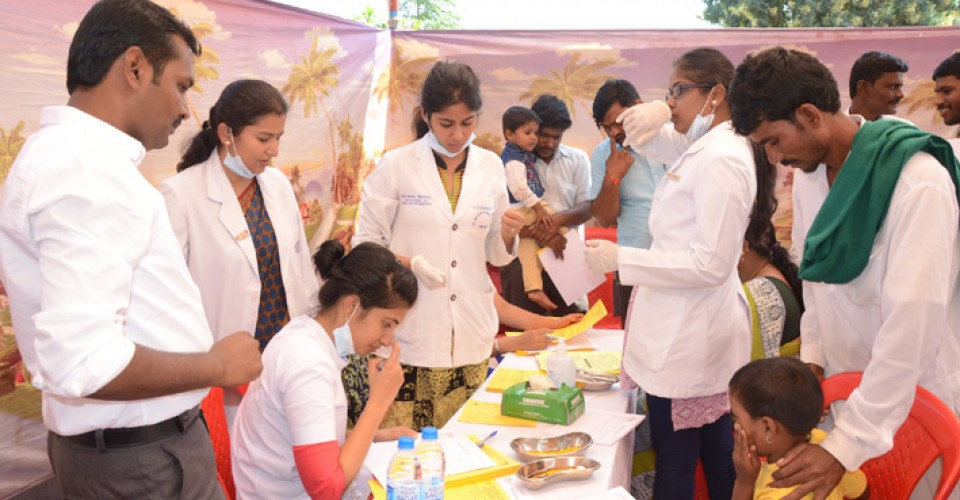 Free Health Checkup Camp At Bilgi