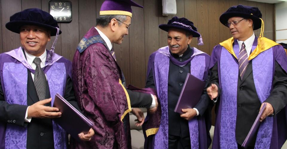 USM Doctorate Felicitation Ceremony – 06/12/15