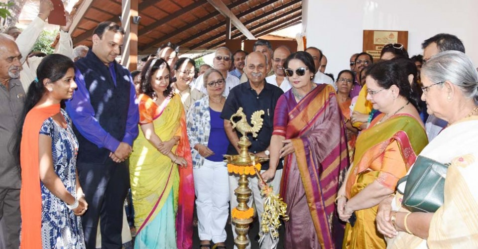 Shabana Aazmi inaugurated the KLE Centenary Museum